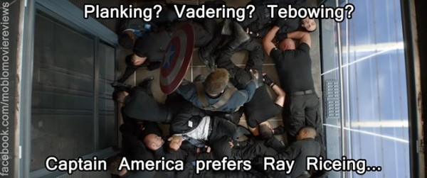 Captain America does it too
