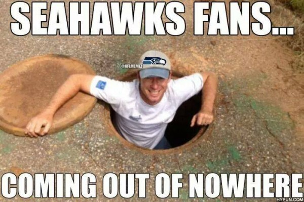 Coming out of nowhere e1409919699979 18 Best Memes of the Seattle Seahawks Beating the Green Bay Packers