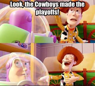 Cowboys playoff joke