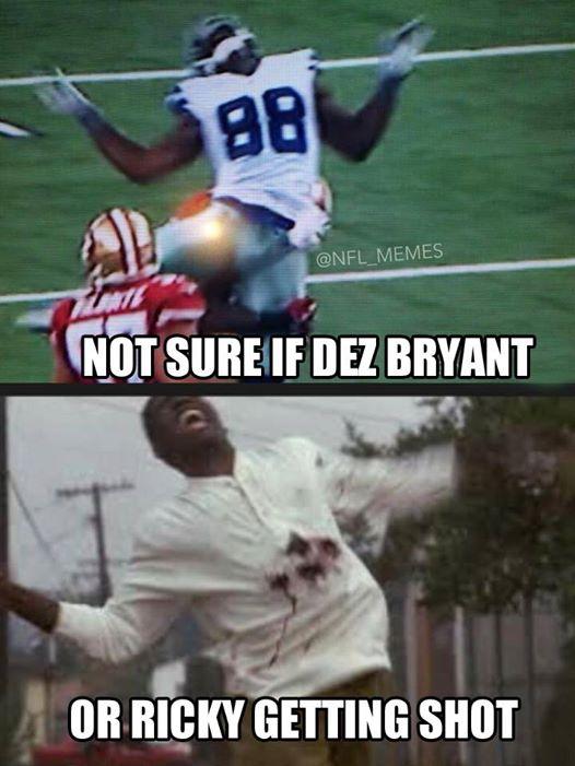 Dez Bryant shot