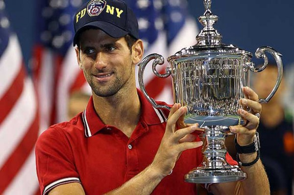 Djokovic 2011 US Open Champion