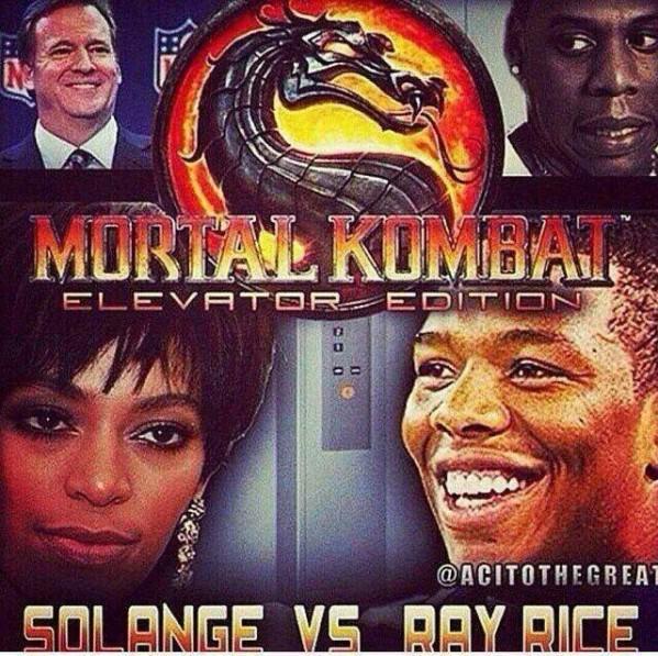 Elevator Mortal Kombat edition