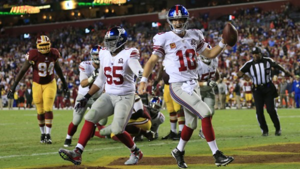 Giants beat Redskins