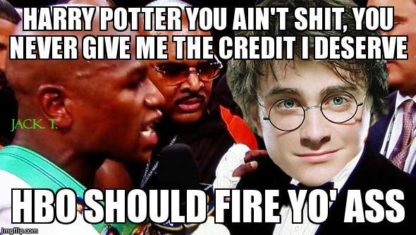 Fire Harry Potter