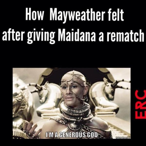 Generous Mayweather