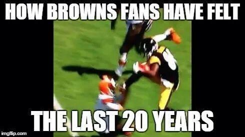 How Browns fans feel