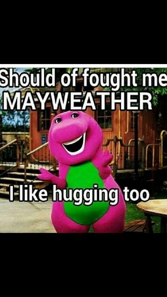 Hugging master
