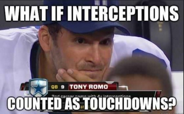 Interceptions and Touchdowns