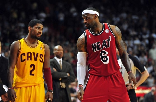 Kyrie Irving, LeBron James