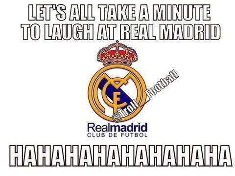 Laughing at Real