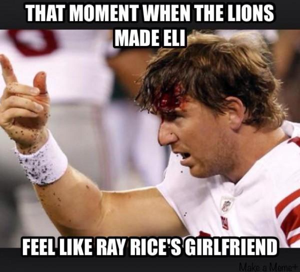 Like Ray Rice's girl
