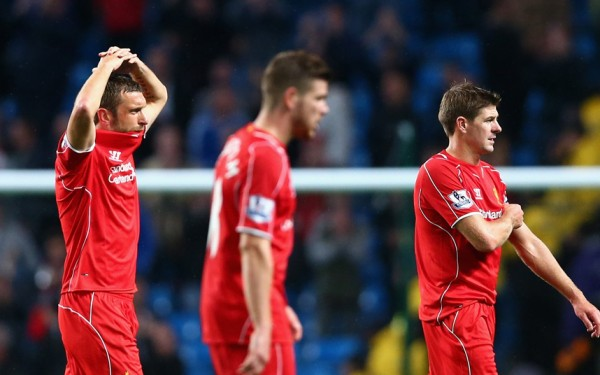 Liverpool Losing