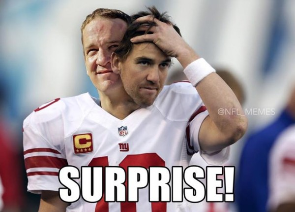 Manning surprise