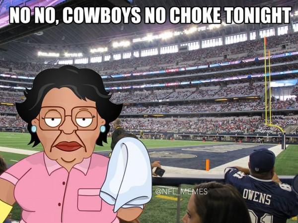 No choke tonight