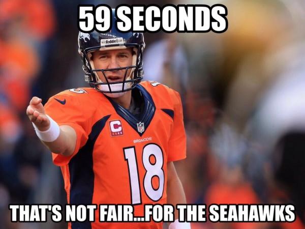 Not fair for the Seahawks