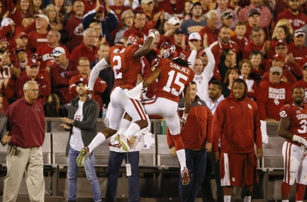 Oklahoma touchdown