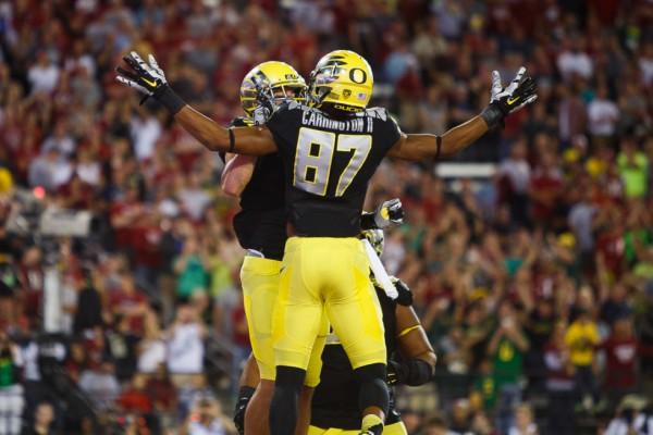 Oregon beat Washington State