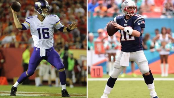 Patriots vs Vikings