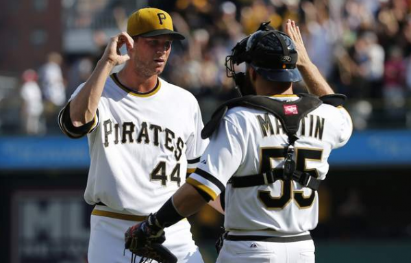 Pirates beat Brewers