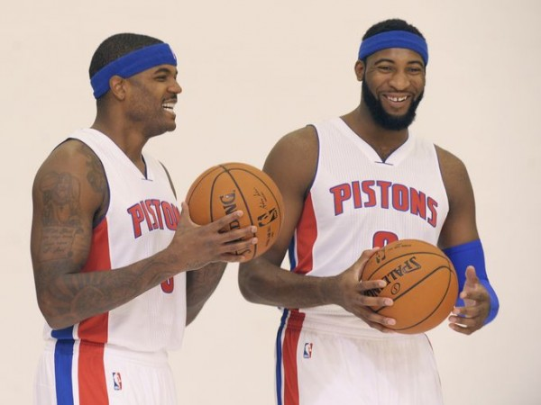 Pistons media day