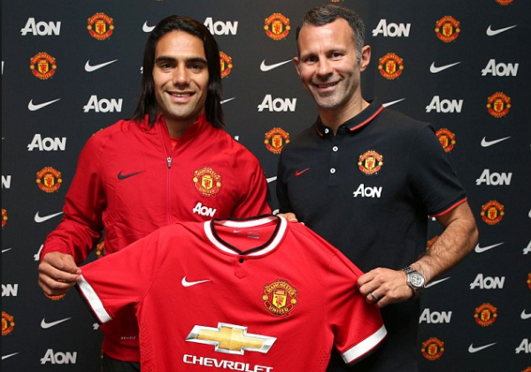 Radamel Falcao, Ryan Giggs