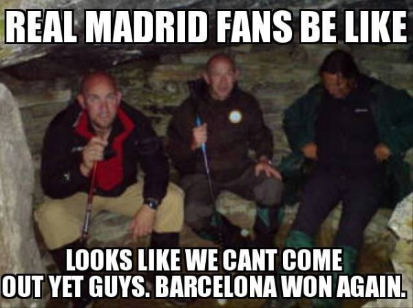 Real Madrid fans right now