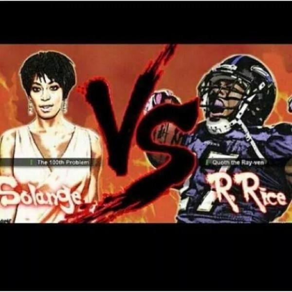Rice vs Solange