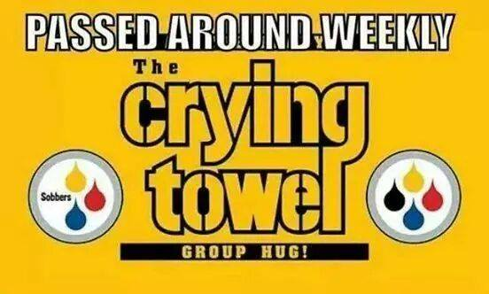 Steelers towel