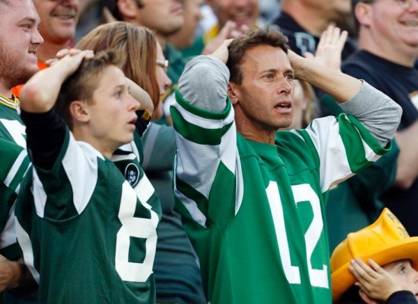 Stunned Jets fans