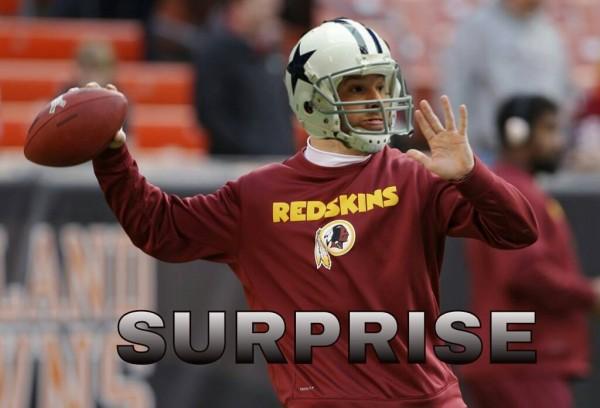 Surprise quarterback