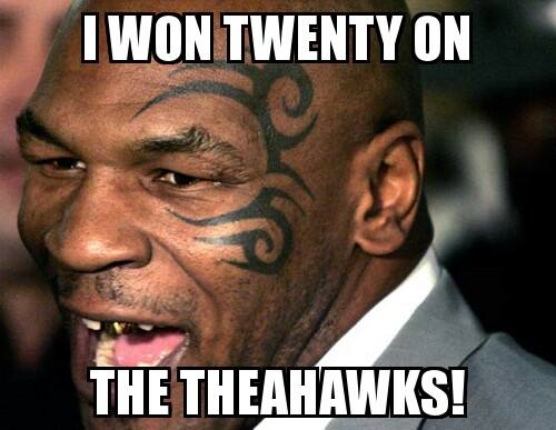 Tyson won 18 Best Memes of the Seattle Seahawks Beating the Green Bay Packers