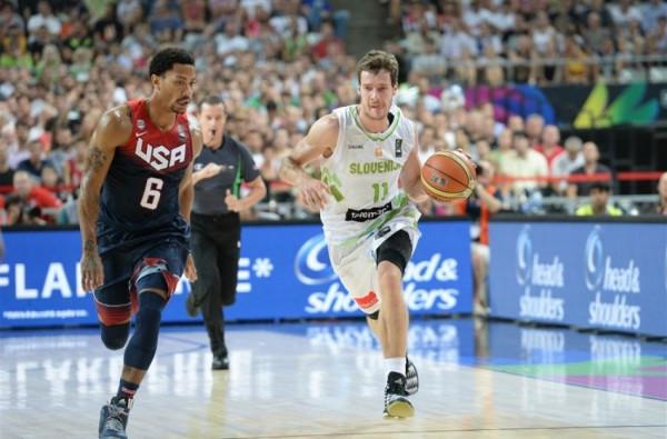 USA beat Slovenia