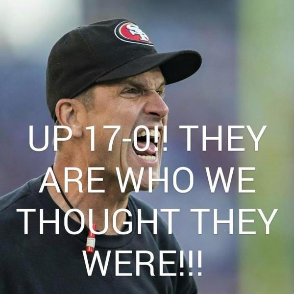 We had them