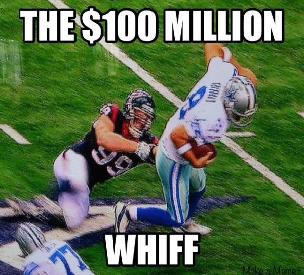 100 million whiff