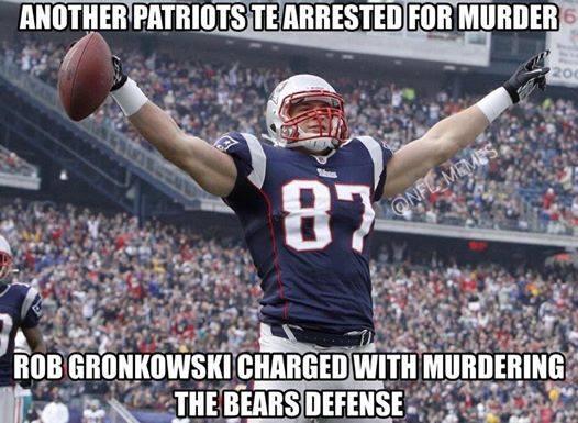 Arrested for murder