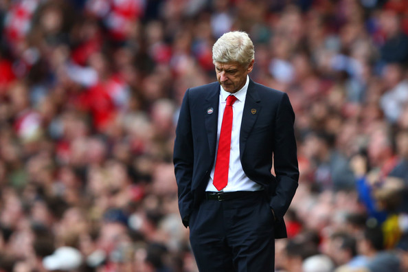 Arsene Wenger Arsenal FC   Arsene Wenger Knows Its Another Lost Season