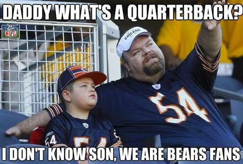Bears fans problems