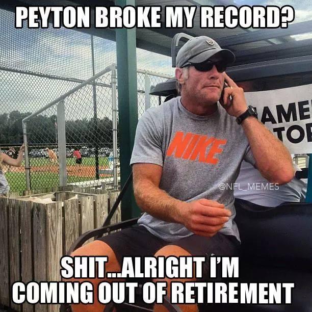 Brett Favre is coming back