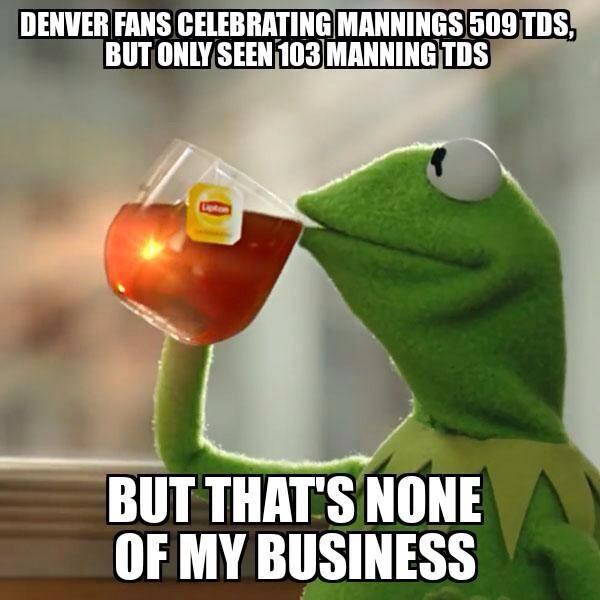 Broncos fans logic