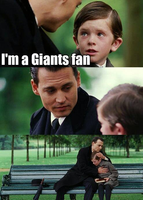 Comforting Giants fans