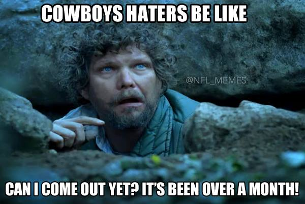 Cowboys Haters waiting