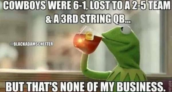 Cowboys Lost meme