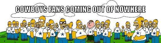 Cowboys fans meme