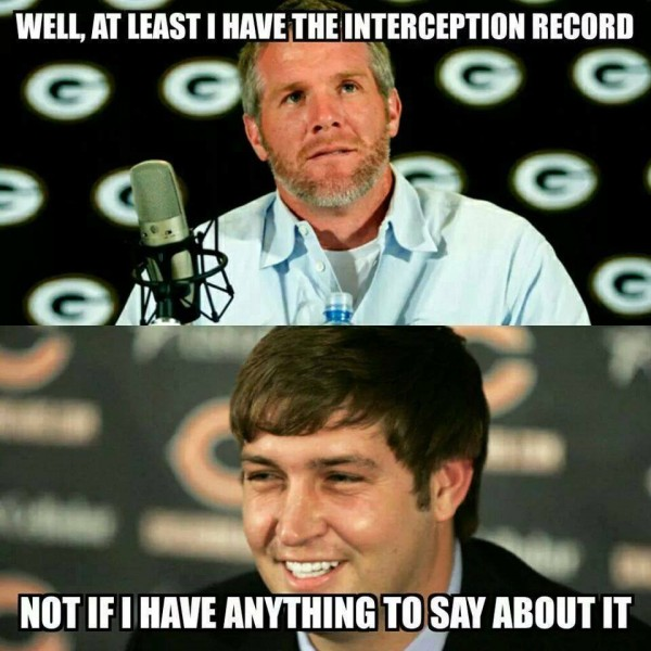 Cutler wants a record