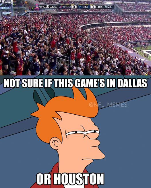 Dallas or Houston fans