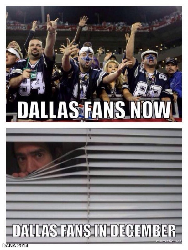 December for Cowboys fans