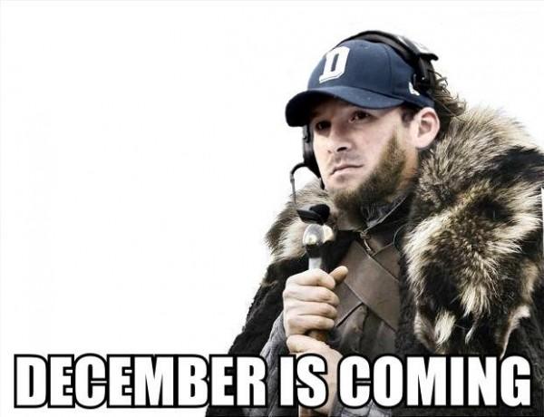 December is coming