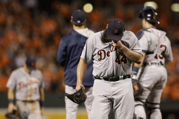 Detroit Tigers Lose