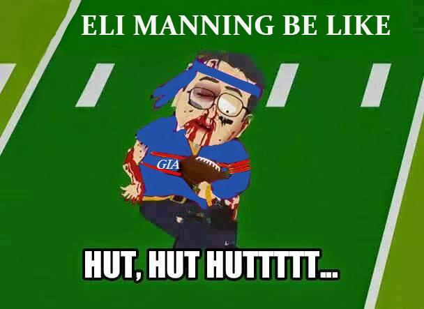 Eli Manning Hut