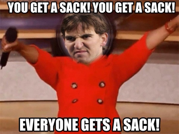 Everyone gets a sack